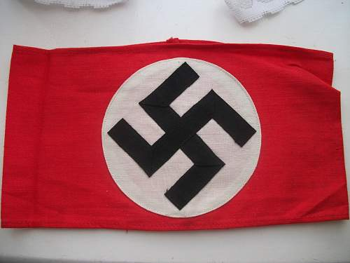 NSDAP Armband received today