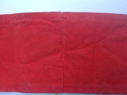 NSDAP Kampfbinde - Cotton Version - Is it a good one?
