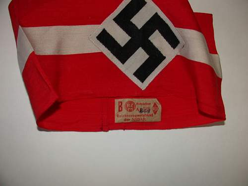 Click image for larger version.  Name:RZM Tag Hitler Youth Armband.jpg Views:87 Size:58.9 KB ID:691925