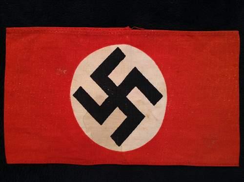 NSDAP Printed Kampfbinde!