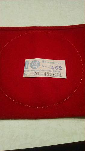 NSDAP armband woll unissued authentic?