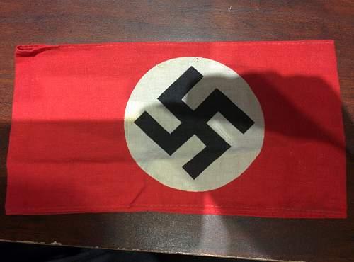 My First Printed NSDAP Kampfbinde