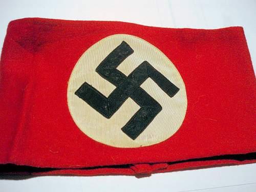 Embroidered Nazi Armband