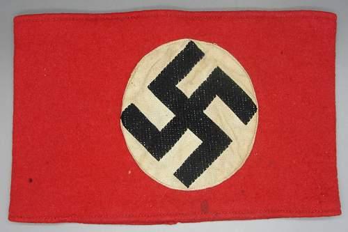 NSDAP armband any good?