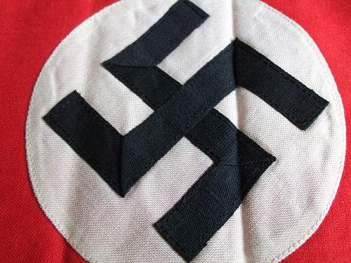 Multi piece Cotton NSDAP/SA Armband Opinion