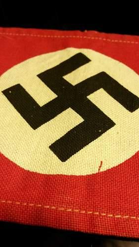 NSDAP Cotton Printed Armband