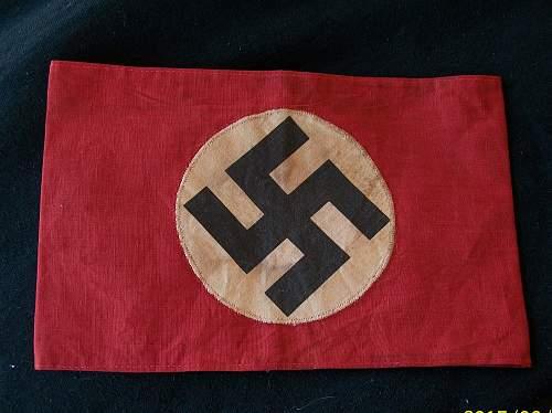 NSDAP Kampfbinde cotton