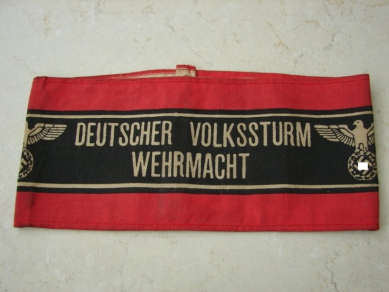 how to tell if a nazi armband is real