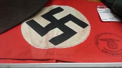 Any Info On Nazi Armband?