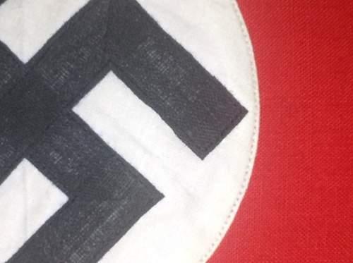 NSDAP Armband, Original?