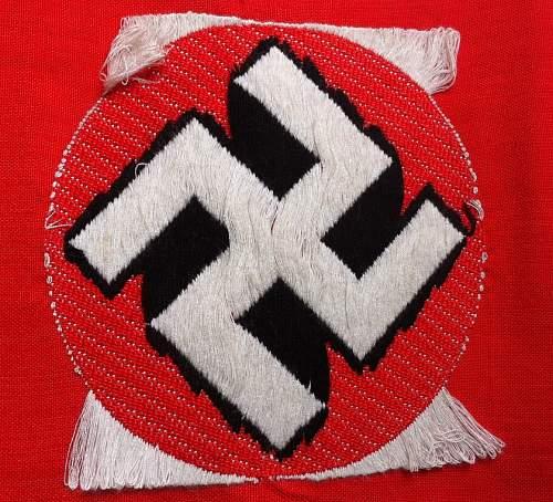 NSDAP BeVo armband.