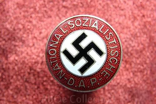 National sozialistische pin