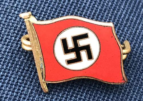 Nsdap supporters badge