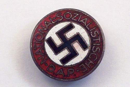 NSDAP button or badge?