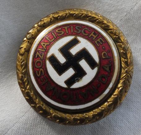 NSDAP Gold Party badge
