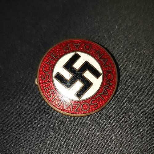 NSDAP Party badge M1/72