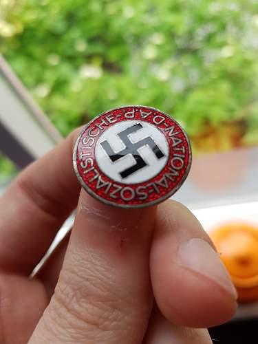 NSDAP Parteiabzeichen M1/77 opinions