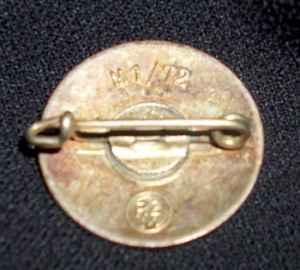 NSDAP Party membership badge