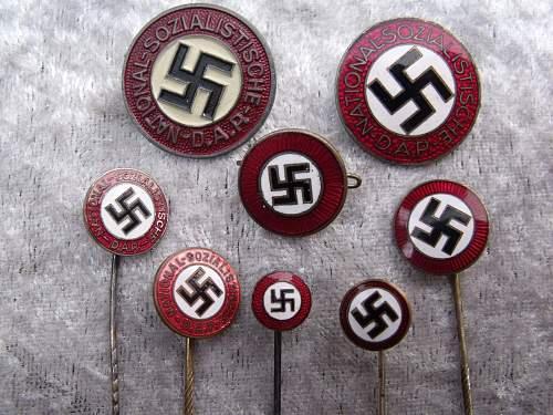 M1/152 NSDAP Parteiabzeichen