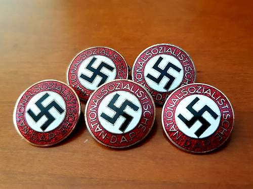 NSDAP Parteiabzeichen M1/105