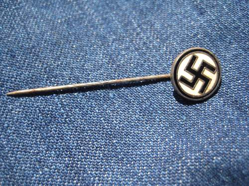 just a simple stick pin