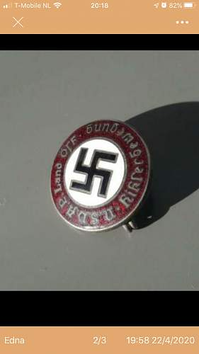 Need some help indetifying this Austrian NSDAP BADGE