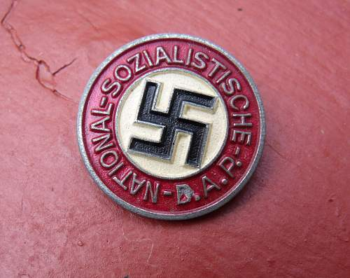 Another Late War Zinc Assmann m1/17 badge