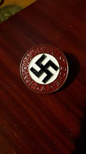 NSDAP Pin Authentication