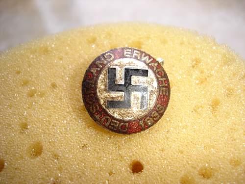 Original or Fake NSDAP membership badge?