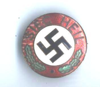 Seig Heil Party Badge