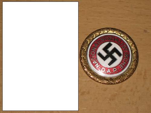 NSDAP Goldene Parteiabzeichen
