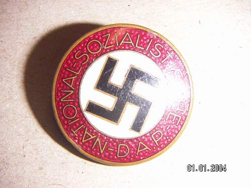 who does the best NSDAP Gold Party badge copies