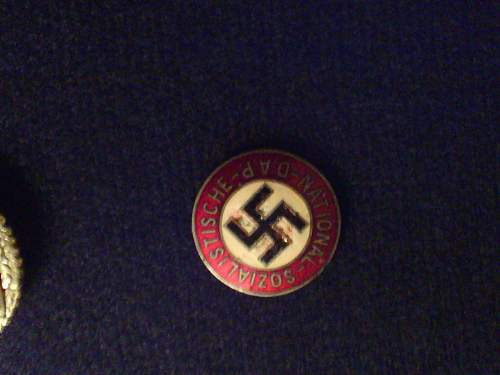 Party badge  ebay deal (I think).