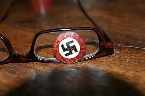 Nun Erst Recht pin i bought..Your opinion please about it