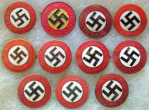 Parteiabzeichen der NSDAP, RZM M1/93, Gottlieb Friedrich Keck