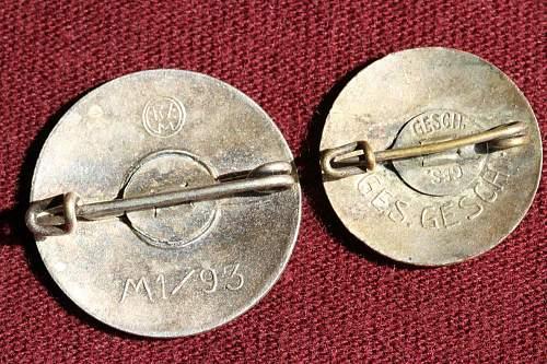 Parteiabzeichen Early 1920-33 Unknown Maker