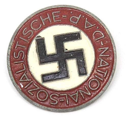 Late NSDAP Party Badge RZM M1/72