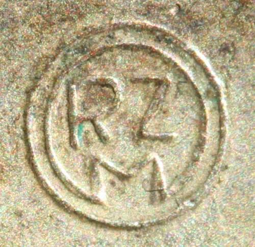 Parteiabzeichen M1/52 die error Deschler large RZM