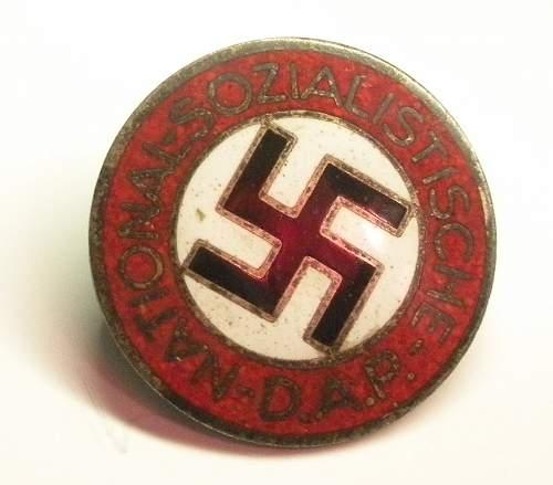 Click image for larger version.  Name:NSDAP M1-105-2 obverse.jpg Views:64 Size:109.3 KB ID:351622