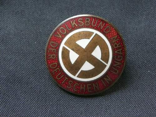 Volksbund der Deutschen in Ungarn pin