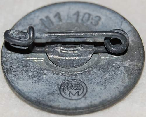 RZM M1/103 Party Pin Verification