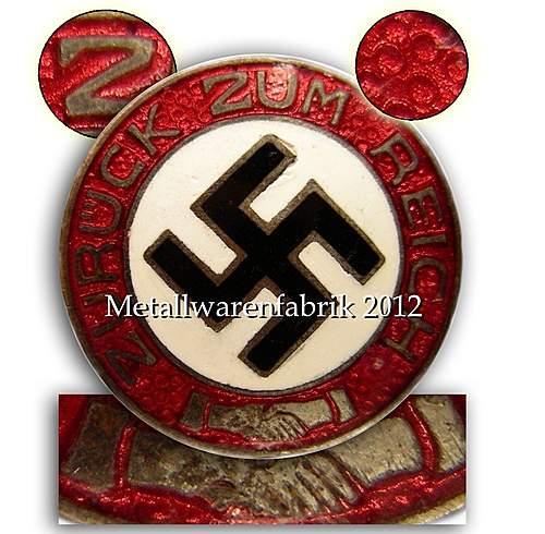 question about a NSDAP badge ?