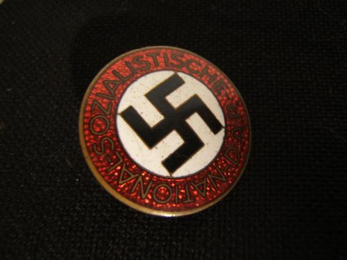 nsdap party badge RZM M1/3 in good shape!