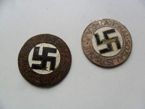 Parteiabzeichen, NSDAP membership badges - authenticity & value