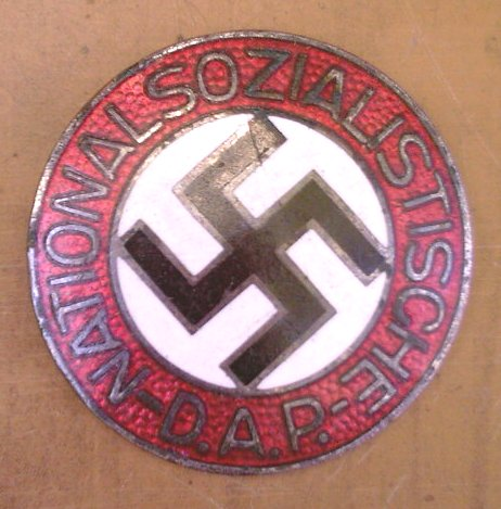 NSDAP party member badge from ukraine RZM 1/25