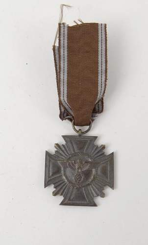 Need Opinions Please Is This NSDAP Long Service Medal a Good One