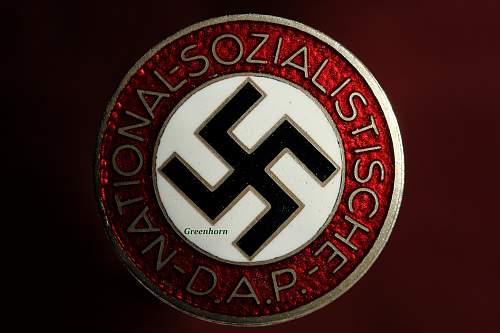 NSDAP pin opinions