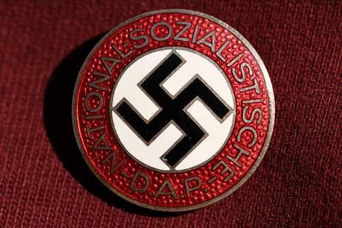 NSDAP pin, real or fake?