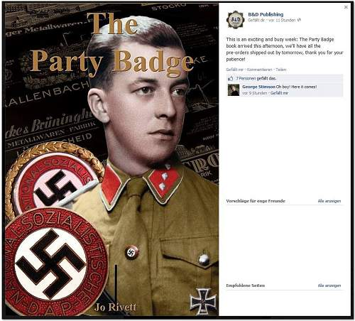 The Party Badge Book ▬ An Advanced Study Of The NSDAP Membership badge