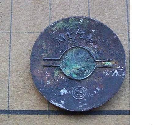 nsdap member badge rzm m1/14